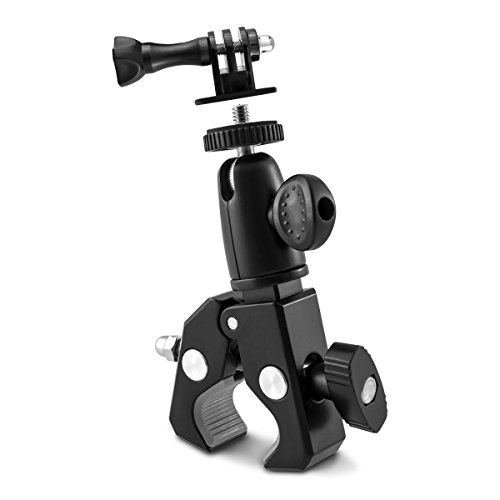 kwmobile Kamerahalterung Fahrrad Motorrad - Kamera Lenker Halterung - Camera Halter Fahrradhalterung - für z. B. Nikon Canon Olympus Fujifilm Samsung