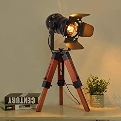 Industrial Retro Table Lamps
