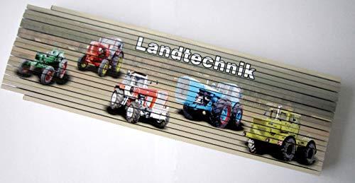 Zollstock/Meterstab 4m - Landtechnik