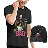 Photo de AYYUCY Homme T- T-Shirt Polos et Chemises an-dy War-hols Bad Men's T-Shirt and Hats for Teenager Black