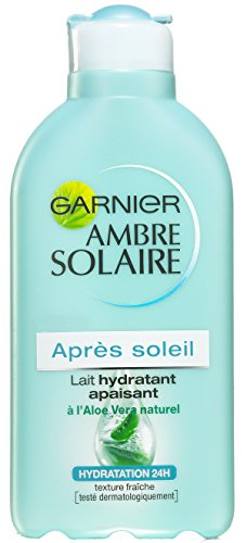 Garnier Ambre Solaire - Lait Hydratant Apaisant Après Soleil à LAloe Vera - 200 ml