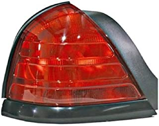 Go-Parts - OE Replacement for 1999 - 2011 Ford Crown Victoria Rear Tail Light Lamp Assembly / Lens / Cover - Left (Driver) Side - (Base Model + LX + Police Interceptor + S + Special Edition) 8W7Z