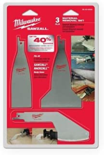 Milwaukee 49-22-5403 Material Removal Set, 3-Pack