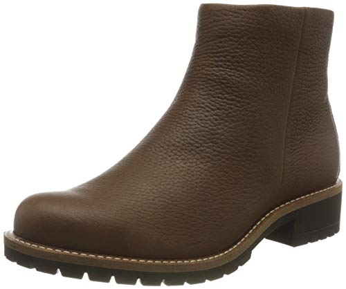 ECCO Damen Elaine Rudo Spider Chelsea Boot, Braun (Cocoa Brown), 39 EU