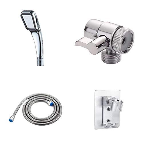 Duschkopf Multifunktions-Handbrausekopf-Sprühsatz Flexibler Sprinkler-Waschbeckenanschluss Wasserhahn Außenhahn Waschbecken Waschbecken Küche