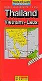 Carte routière : Thaïlande - Viêt-Nam - Laos