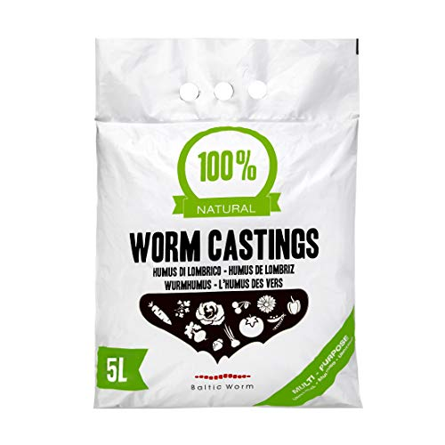 Baltic Worm Worm Castings - Pure Multipurpose Fertiliser Vermicompost -...