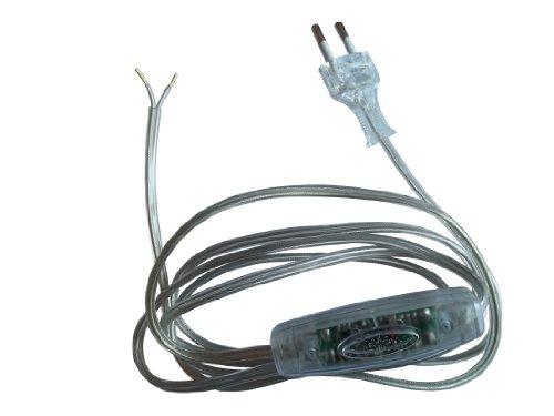 Relco Dimmer SNELLO 40-160 Watt mit Leitung 210cm transparent