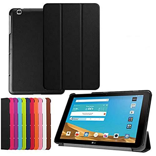 Asng LG G Pad X 10.1 Schutzhülle – Ultra Slim Leichte Stand Cover für LG G Pad 2 25,7 cm (V940) / LG G Pad X 10,1 Zoll (4G LTE ATundT V930) Android 2015 Tablet (schwarz)