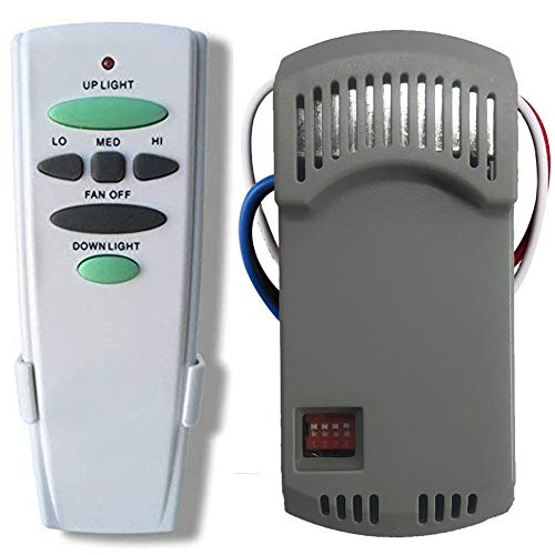 Ceiling Fan Remote Control Kit with Receiver Replaces...