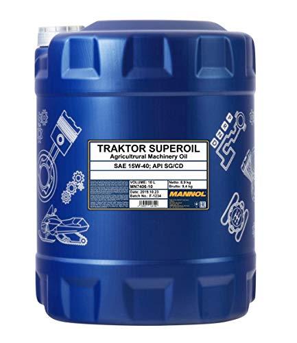 MANNOL Traktor Superoil API CD Motorenöl, 10 Liter