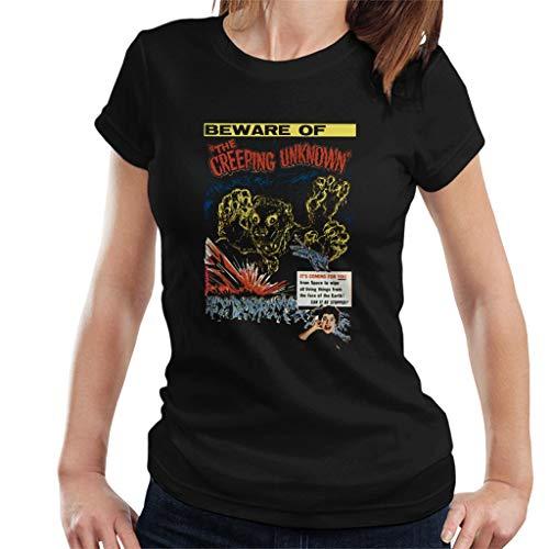 hamer horror films quatermass de kruipende onbekend vrouwen T-Shirt