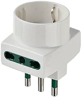 Vimar 0A00323B adattatore per presa di corrente Tipo L (IT) Bianco