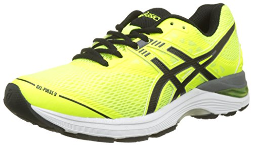 Asics Gel-Pulse 9, Scarpe da Running Uomo, Giallo (Safety Yellow/Black/Carbon), 43.5 EU