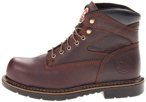 """Irish Setter Men's 83624 6"""" Steel Toe Work Boot,Brown,8.5 D US"""