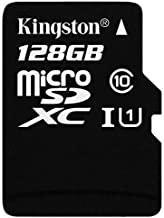 SanFlash Kingston 128GB React MicroSDXC for vivo U20 with SD Adapter (100MBs Works with Kingston)
