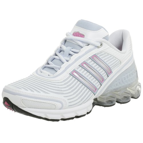 adidas Women's Microbounce, White/Blue/Bloom