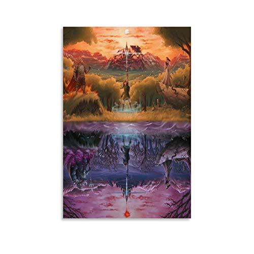 KEMS The Legend of Zelda Fan Art Etsy Leinwand-Kunst-Poster und Wand-Kunstdruck, modernes Familienschlafzimmer, 20 x 30 cm