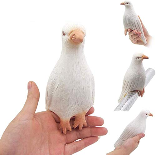 WSNMING Magic Simulation Pigeons Magic Tricks Props for Stage Perform Lifelike Surprise Toys Props