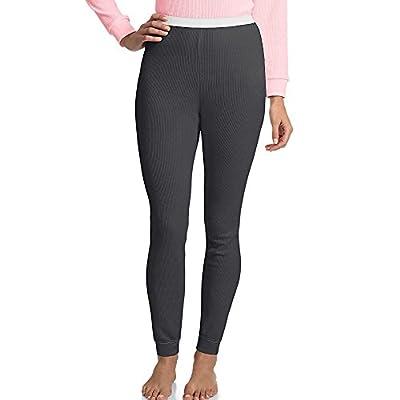 Hanes Women's X-Temp Thermal Pant Black