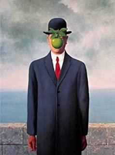 Son Of Man (Fils de l'Homme) by Rene Magritte 24x18 Art Print Poster by Rare Posters