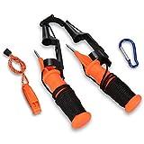 Boaton Ice Picks, Ice Fishing Safety Kit, Emergency Gear for Ice Fishing, Skating Or Walking On Ice