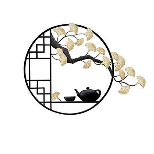 SMEJS Xdszs. Schmiedeeis Eisen einladung Kiefer Zen Ornamente Wand hängen Baum Dekoration Handwerk Home Wohnzimmer Sofa Hintergrund wandbild