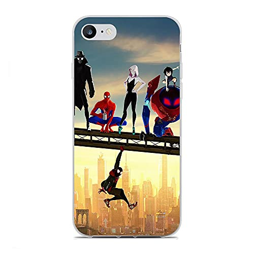 Rusiya Clear Coque Matte Soft Thin Crystal TPU Anti-Yellowing Compact Cover Case For Apple iPhone 6/6s-Super-Hero Power 7