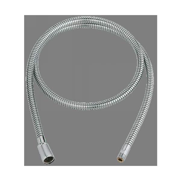 Grohe – fFlexo de ducha G1 / 2 pulgadas M15 x 1   exclusivamente para grifería de lavabo con caño extraíble   1.500 mm…