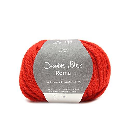 Debbie Bliss Roma Garn, Crimson
