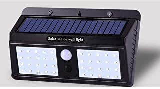 40 LED Solar Powered Light Waterproof, Security Motion Sensor Wall Light