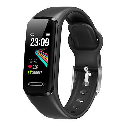 AITES Pulsera Actividad Inteligente, Reloj Inteligente Deportivo Impermeable IP68 para Hombre Mujer niños Smartwatch con Pulsómetros Monitor de Sueño Caloría Podómetro,Regalo para Mujer Hombre niños