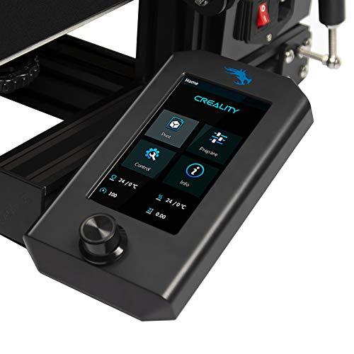 Creality Ender 3 V2 - Kit de Pantalla a Color, Kit de Actualización de Pantalla Inteligente para Impresoras 3D Ender 3 Pro/Ender 3, Solo Compatible con la Placa Base Silenciosa V4.2.2 e V4.2.7