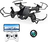 Mini Drone with Camera for Kids and Adults, EACHINE E61HW WiFi FPV Quadcopter