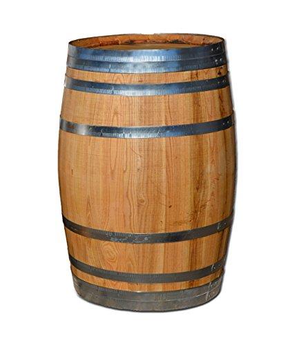 100 Liter Holzfass, neues Fass, Weinfass aus Kastanienholz (Fass geölt geschlossen)