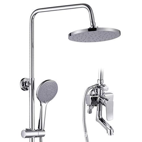 KEKEYANG baño alcachofa de la Ducha con una Sola Mano con una función de Grifo de la Lluvia en el baño Ducha Sistema