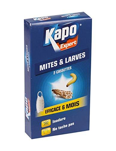 KAPO - Pièges ANTI MITES et LARVES de MITES des Vêtements x 2 pièces à suspendre