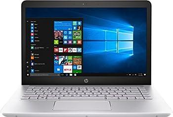 HP 1KT95UA Pavilion Notebook Laptop  Windows 10 7th Gen Intel Core i7-7500U Processor 14   1920 x 1080  Full HD Display SSD  512 GB RAM  8 GB DDR4  Silver