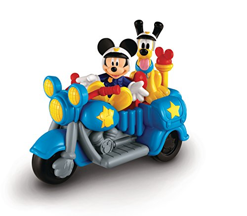 Fisher Price - Y2297 - Figurine - La Moto de Police de Mickey