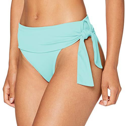 Pour Moi? Damen Getaway Fold Over Tie Brief Bikini-Unterteile, Grün (Mint Mint Mint), 42