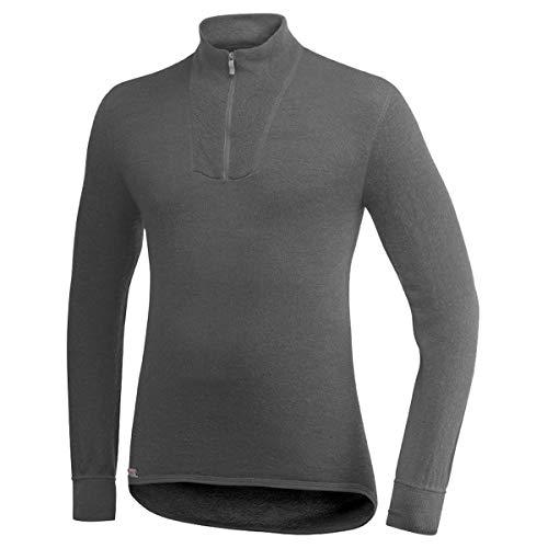 Woolpower 200 Sweat-Shirt à col roulé avec Demi-Zip, Grey Modèle 3XL 2019 sous-vêtement