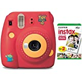 Fujifilm instax Mini 9 Instant Camera (Disney Toy Story 4 Edition) with Film Pack (20 Sheets) Bundle (2 Items)