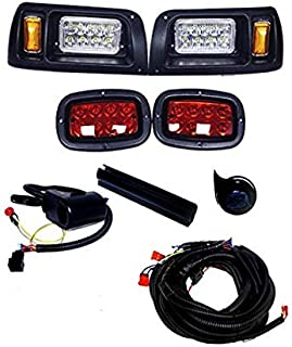 3G Deluxe LED Light Kit (wrap Around) for Club Car DS Golf Carts 1993+