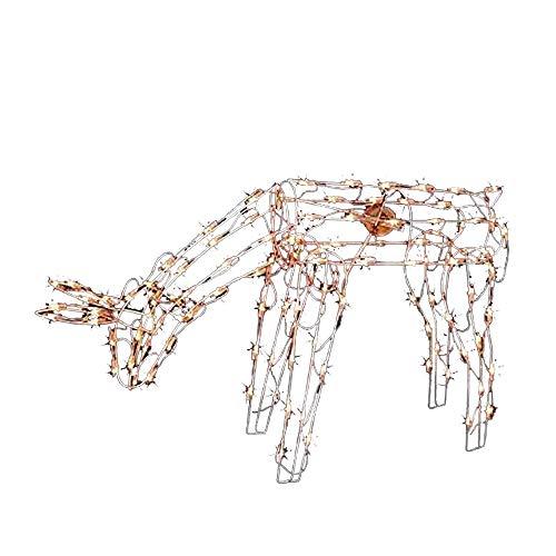 Nantucket 42-Inch Lighted Animated Feeding Doe Deer w/ 105 Lights