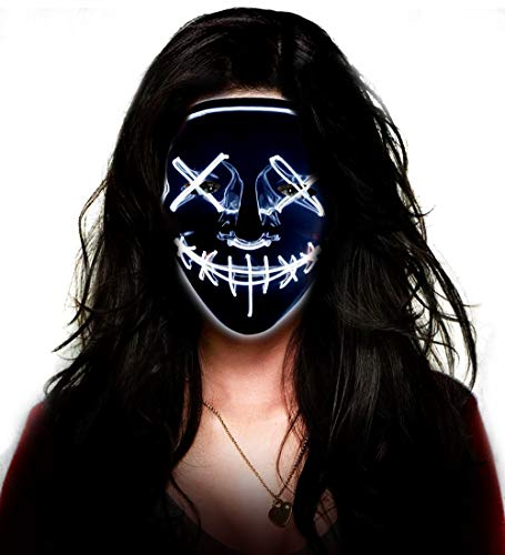 Led Purge Mask Aditomo Halloween Mask Buy Online In Papua New Guinea At Desertcart