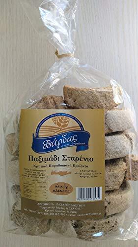 Griechisch - Cretan Dakos Weizen Vollkorn trocken Brot (600-620 gr)