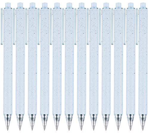 (49% OFF Deal) RIANCY Quick Dry Retractable Gel Ink Pens, 0.5mm 12 Pack Prime Day Deal $7.19