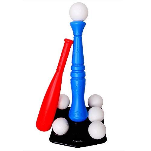 Asyxstar Toddler Toys T-Ball Set,Kids Toys Baseball Tee Ball Set Outdoor Toys for Toddler Boy Toys
