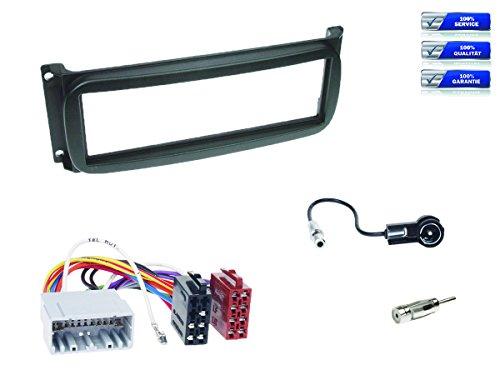 Kit Complet de Montage d'autoradio 1 DIN Chrysler – Divers modèles à partir de 1999 * Noir *