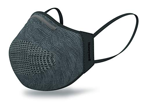 Honeywell Safety Dark Gray Dual Layer Face Cover with 8 Replaceable Inserts, Size M/L (RWS-50111)